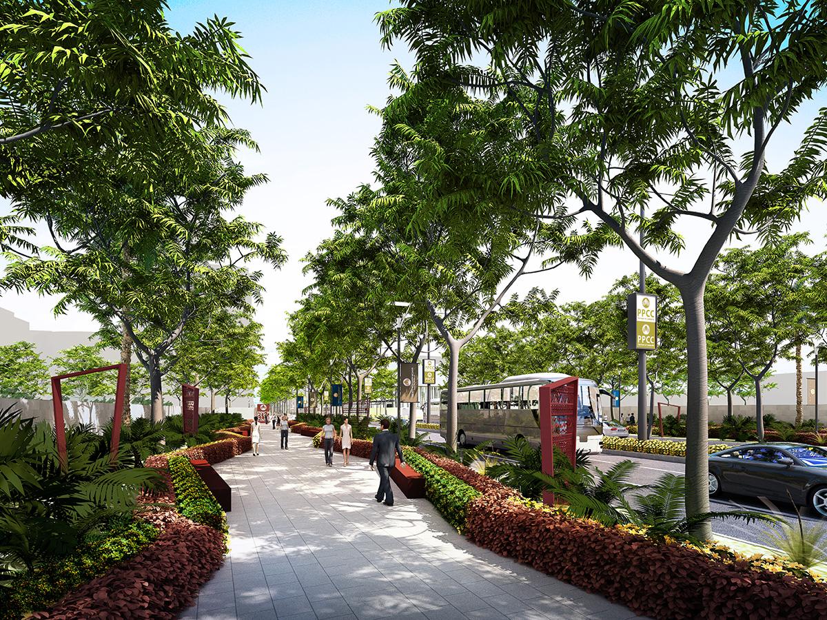 PPCC Walkway